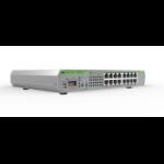 Allied Telesis AT-GS920/16-50 Unmanaged Gigabit Ethernet (10/100/1000) Grey