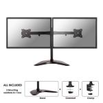 "Newstar NM-D335DBLACK 27"" Clamp Black flat panel desk mount"