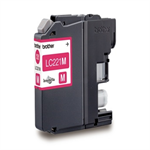 Brother LC-221M Ink cartridge magenta, 260 pages, 4ml LC221M