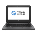 "HP ProBook 11 EE G2 Notebook 11.6"" 1366 x 768 pixels Touchscreen Intel® Celeron® 4 GB DDR4-SDRAM 500 GB HDD Windows 10 Pro Black, Gray"