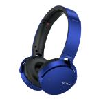 Sony MDRXB650BT Head-band Binaural Wireless Blue mobile headset