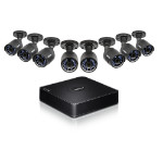 Trendnet TV-DVR208K Wired 8channels video surveillance kit