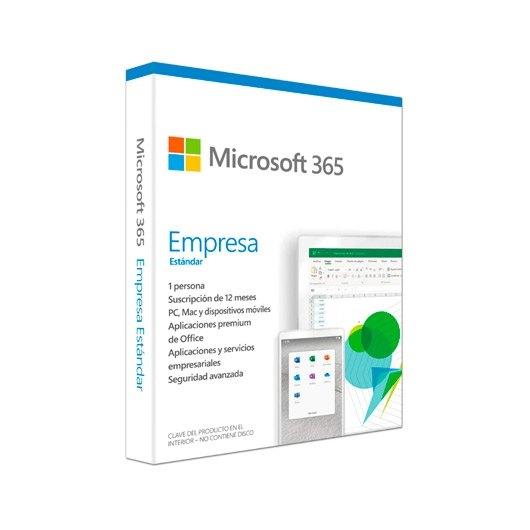 Microsoft Office 365 Business Standard Completo 1 licencia(s) 1 año(s) Español