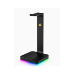 Corsair Gaming ST100 RGB - Headset Stand with 7.1 Surround Sound. Built in 3.5mm analog input. Dual USB 3.1