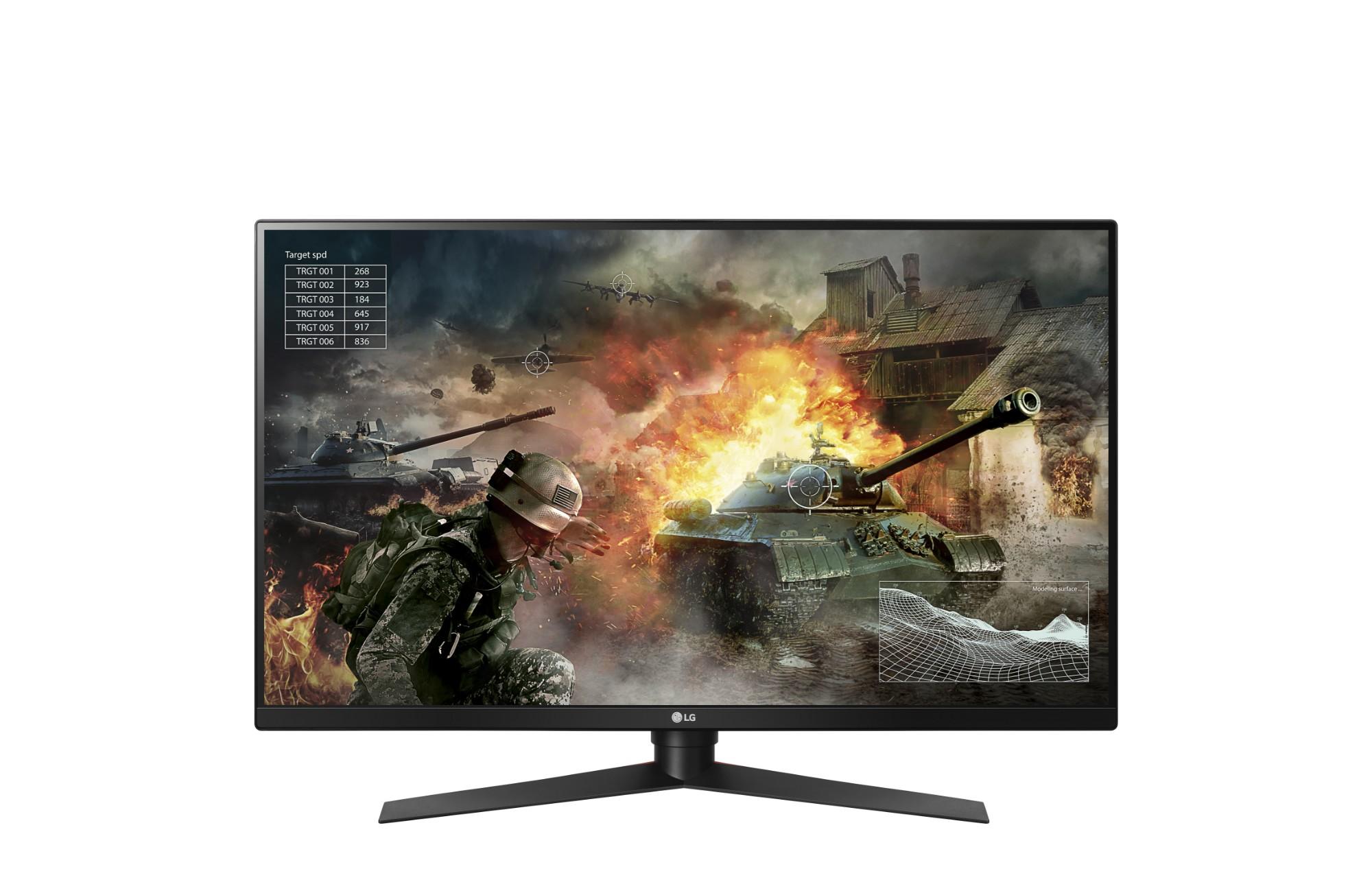 """LG 32GK850G-B LED display 80 cm (31.5"""") 2560 x 1440 pixels Wide Quad HD Flat Matt Black,Red"""