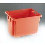 FSMISC STACK/NEST BOX 600X400X400MM RED
