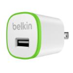 Belkin F8J013VFWHT Binnen Groen, Wit oplader voor mobiele apparatuur