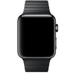 Apple Watch 42mm Stainless Steel Link Bracelet Strap - Space Black, Official by Apple, (MJ5K2ZM/A)