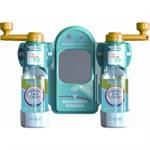 Wallace Eyewash Station Standard Mirror 2x Eyewash Bottle Ref 2402057