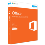 Microsoft Office Home & Business 2016 Full 1 license(s) Multilingual