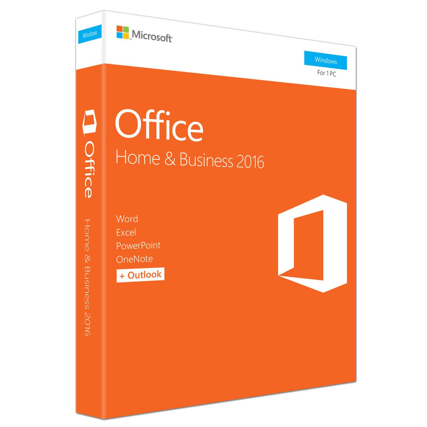 Microsoft Office Home & Business 2016 Completo 1 licencia(s) Plurilingüe