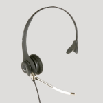 JPL 602PM Monaural Head-band Black headset