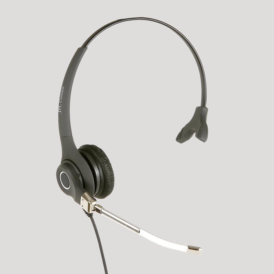 JPL 602PM Monaural Head-band Black headset