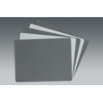 Novoflex Kontrollkarten Grau/Weiß