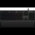 Logitech G G513 Carbon keyboard USB QWERTY UK International Black
