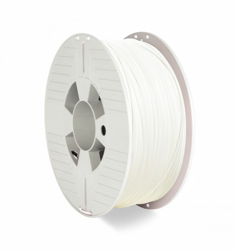 Verbatim 55050 3D printing material Polyethylene Terephthalate Glycol (PETG) White 1 kg