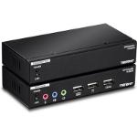 Trendnet TK-DEX5 KVM extender Transmitter & Receiver