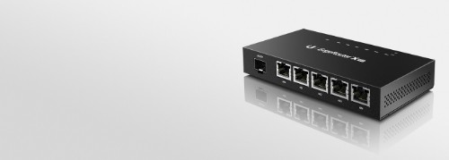 Ubiquiti Networks ER-X-SFP Ethernet LAN Black wired router
