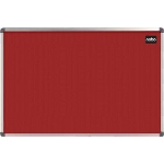 Nobo Classic Felt Board Red 900x1200mm