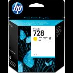 HP 728 Origineel Geel