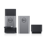 DELL 450-AGHK power bank Lithium-Ion (Li-Ion) 12800 mAh Black, Silver