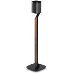 Flexson Premium Floor Stand Sonos One/Play:1 speaker mount Aluminium, Glass, Steel, Wood Black