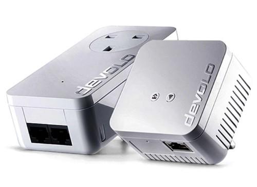 Devolo dLAN 550 WiFi Starter Kit 500 Mbit/s Ethernet LAN Wi-Fi White 2 pc(s)
