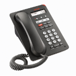 Avaya 1603-I IP phone Black Wired handset LCD 3 lines