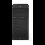 HP Z2 G4 3.6 GHz Intel® Xeon® E-2144G Black Tower Workstation