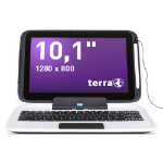 "Wortmann AG TERRA MOBILE 1040 Pro 1.33GHz Z3735D 10.1"" Touchscreen Black,WhiteZZZZZ], UK1220435"