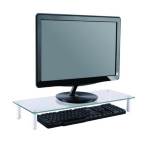 Newstar NSMONITOR10 Transparent notebook arm/stand