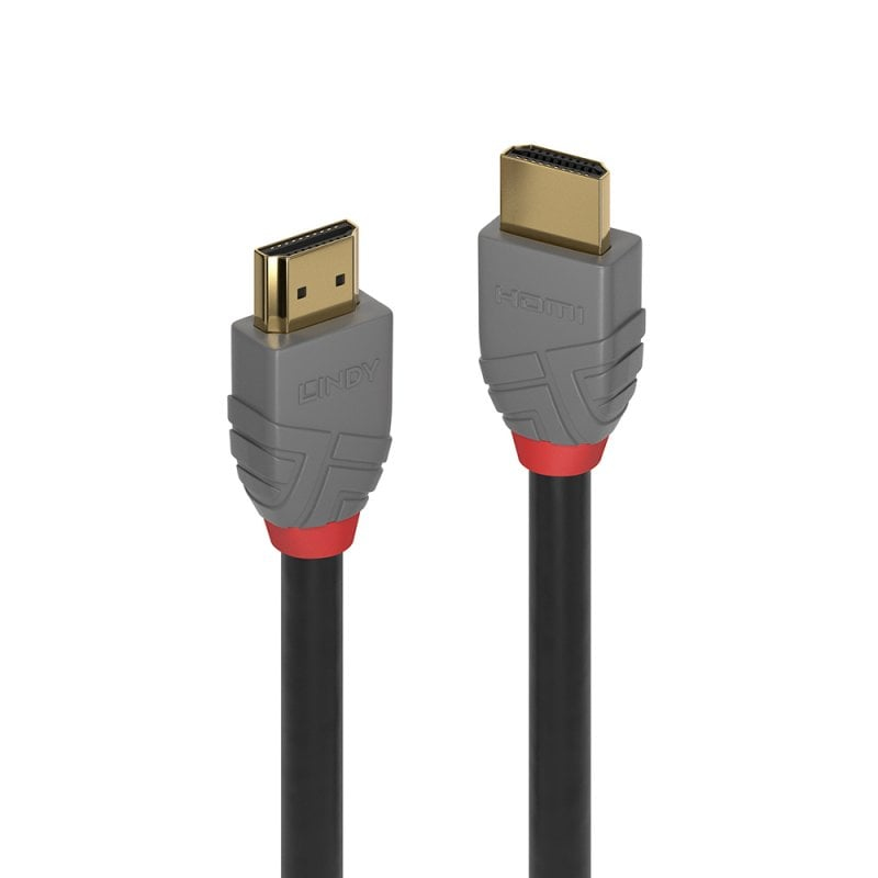 Lindy 36962 HDMI cable 1 m HDMI Type A (Standard) Black,Grey