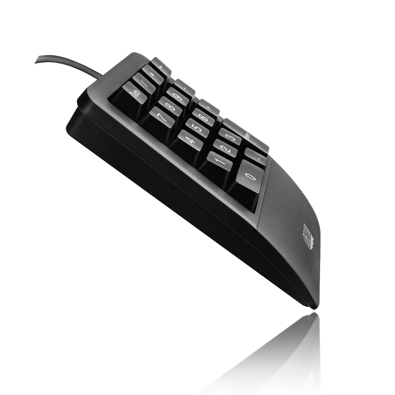Adesso Easy Touch 618 Universal Usb Black Numeric Keypad Keyboard