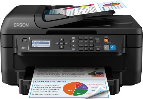 Epson WorkForce WF-2750DWF 4800 x 1200DPI Inkjet A4 33ppm Wi-Fi