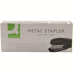 Q-CONNECT Q CONNECT STAPLER METAL HALF STRIPBLACK