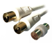 MCL MC782HQ-3M cable coaxial 9.5mm Blanco