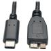 Tripp Lite USB 3.1 Gen 1 (5 Gbps) Cable, USB Type-C (USB-C) to USB 3.0 Micro-B M/M, 3.05 m