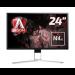 "AOC Gaming AG241QX pantalla para PC 60,5 cm (23.8"") 2560 x 1440 Pixeles Quad HD LED Plana Negro, Rojo"