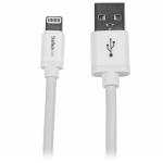 StarTech.com 2 m lange witte Apple 8-polige Lightning-connector-naar-USB-kabel voor iPhone / iPod / iPad