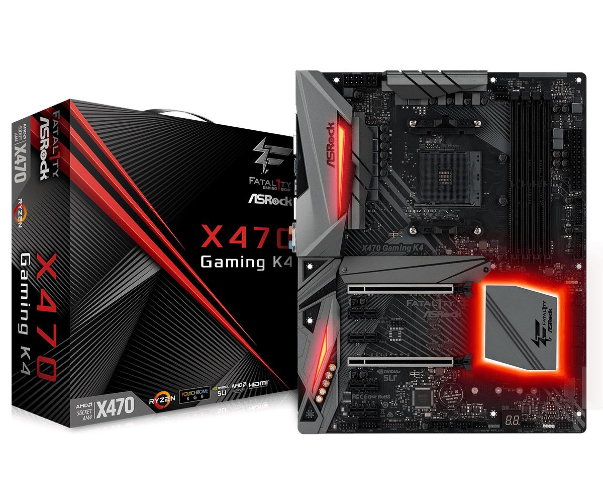 Asrock Fatal1ty X470 Gaming K4 AMD X470 Socket AM4 ATX