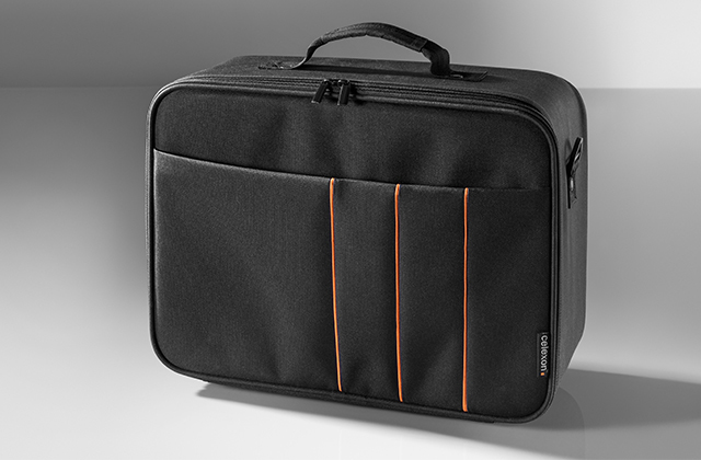 Celexon 1091409 projector case Polyester Black