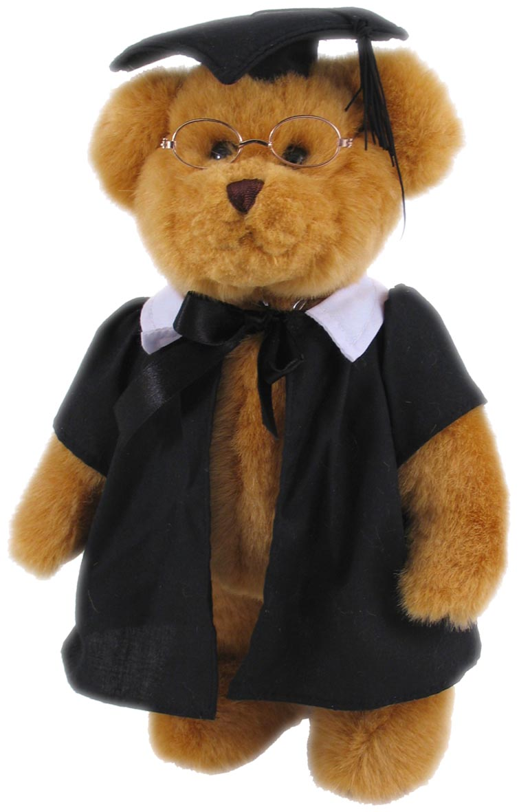 ELKA SOFT TOY TREASURED TEDDIES GRADUATION BEAR(EACH)