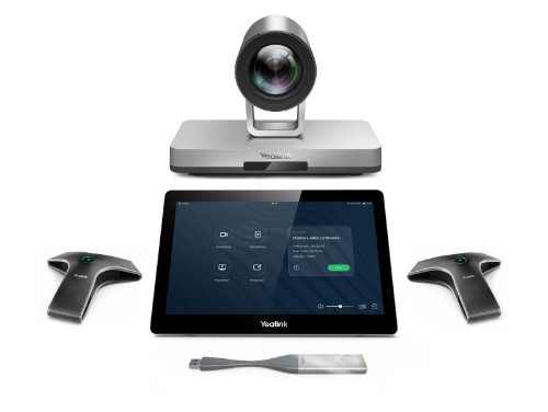 Yealink VC800 video conferencing system 24 person(s) 2 MP Ethernet LAN Multipoint Control Unit (MCU)