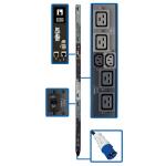 Tripp Lite PDU3EVNR6G60A power distribution unit (PDU) 0U Black 18 AC outlet(s)