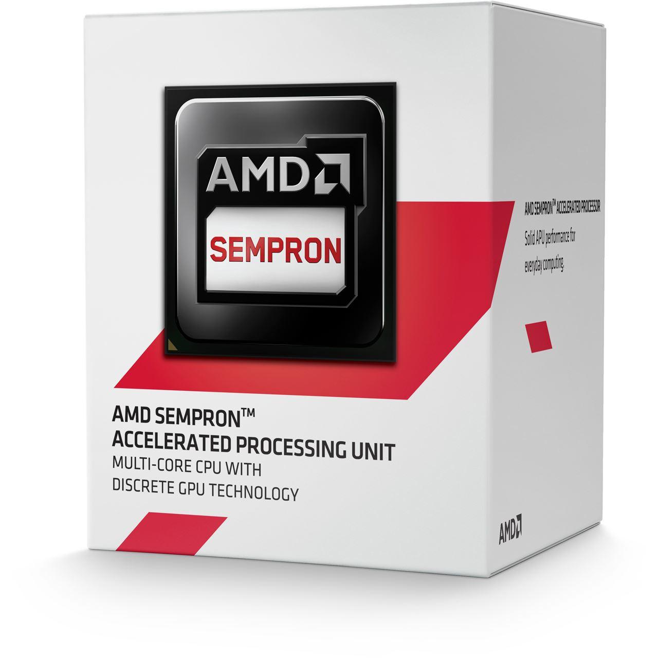 AMD Sempron 3850 processor 1,3 GHz Box 2 MB L2