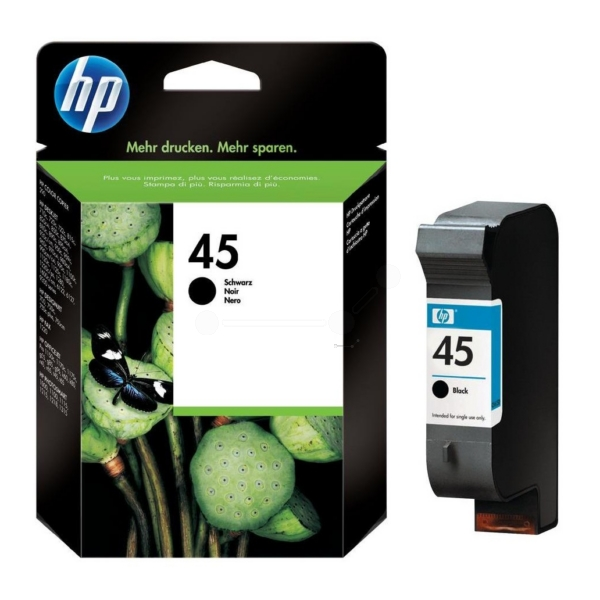 HP 51645AE (45) Printhead black, 930 pages, 42ml