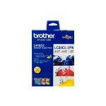 Brother LC38CL3PK 3 pc(s) Original Cyan, Magenta, Yellow
