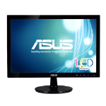 "ASUS VS197T-P 19"" Black computer monitor LED display"