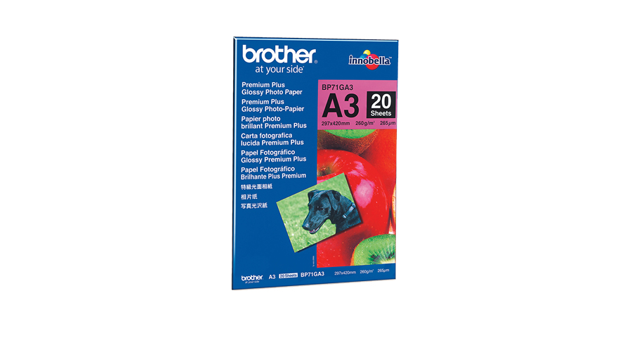 Brother Papel Fotográfico Glossy Premium A3