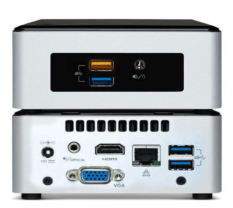 Media Vision VMP-CE3050 digital media player 3840 x 2160 pixels Black, Silver